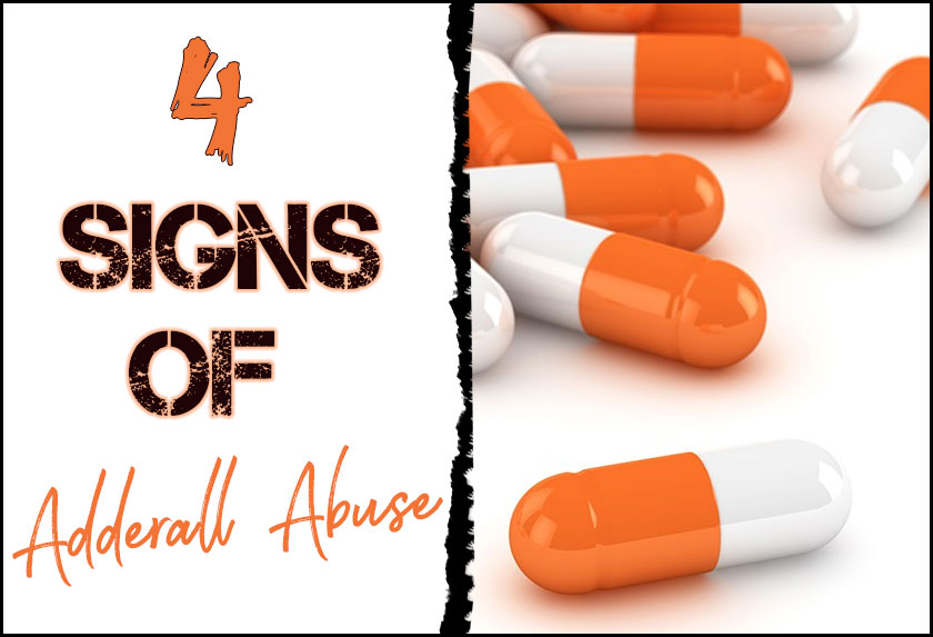 signs of adderall abuse